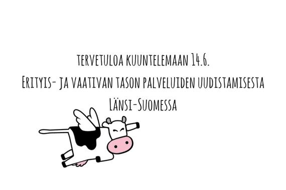 Erityis- ja vaativan tason palveluiden uudistaminen Länsi-Suomessa