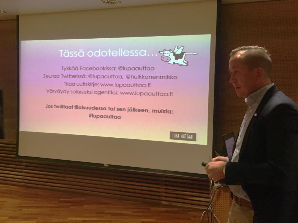Muutosagentti Mikko Hulkkonen
