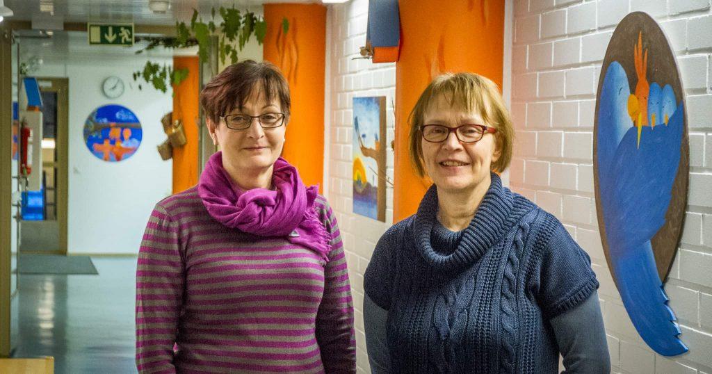 Hannele Elo-Kuru ja Marja-Leena Borgman