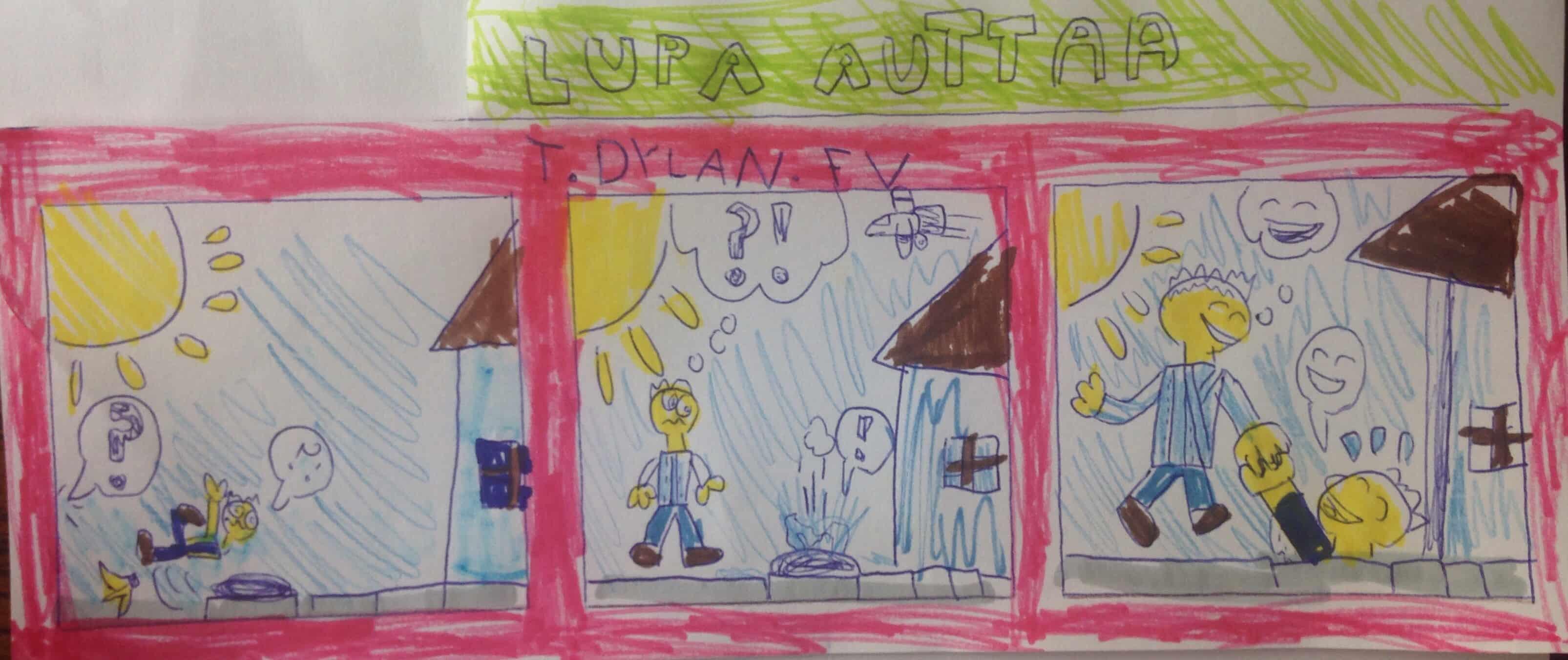 Nuoret sarjistaiturit piirsivät tarinoita auttamisesta